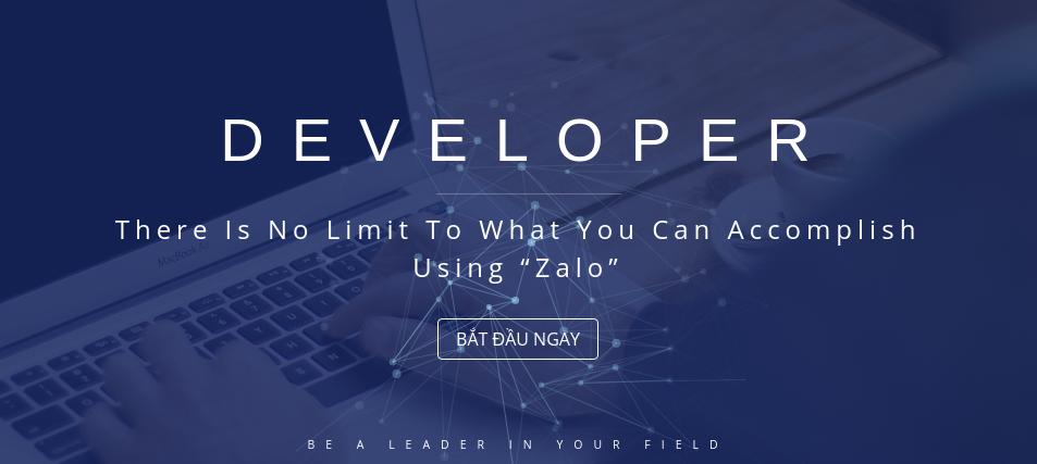 Zalo For Developers